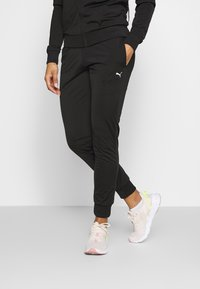 Puma - COLORBLOCK TRICOT SUIT - Tracksuit - black - 5