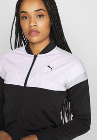 Puma - COLORBLOCK TRICOT SUIT - Tracksuit - black - 4