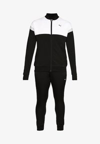 Puma - COLORBLOCK TRICOT SUIT - Tracksuit - black - 6