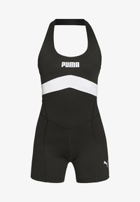 Puma - NEON BRIGHTS ACTIVE BODYSUIT - Tuta - black - 4