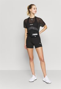 Puma - NEON BRIGHTS ACTIVE BODYSUIT - Tuta - black - 1