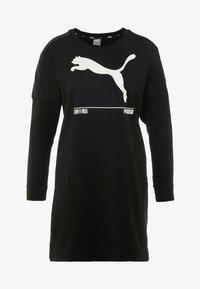 Puma - NU TILITY DRESS - Sports dress - black - 4