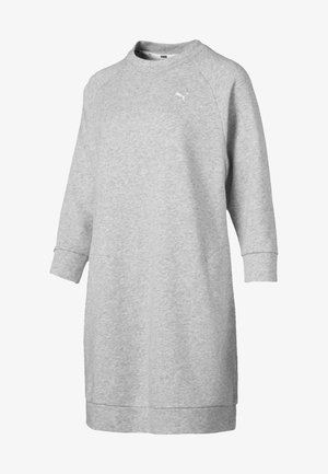 Jersey dress - light gray heather