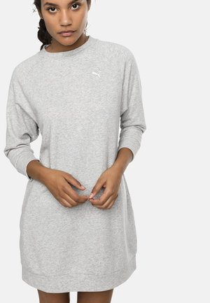 Jersey dress - light gray heather