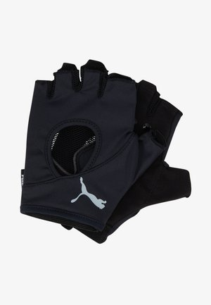 AT GYM GLOVES - Fingerless gloves - black/gray