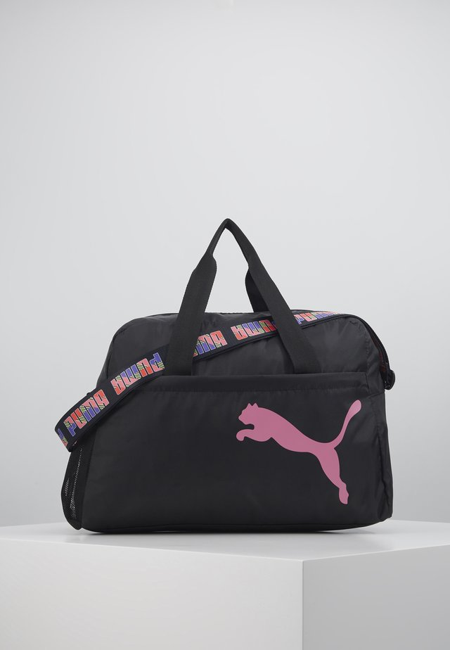 GRIP BAG - Torba sportowa - black/bubblegum