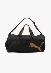 Puma - BARREL BAG - Sportovní taška - black/metallic gold - 1