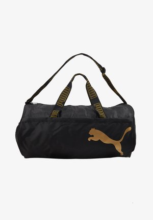 BARREL BAG - Sac de sport - black/metallic gold