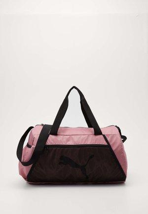 BARREL BAG - Sports bag - foxglove/black