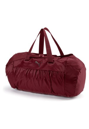 PUMA ACTIVE TRAINING WOMEN'S SPORTS DUFFLE BAG FRAUEN - Sports bag - pomegranate-gunmetal