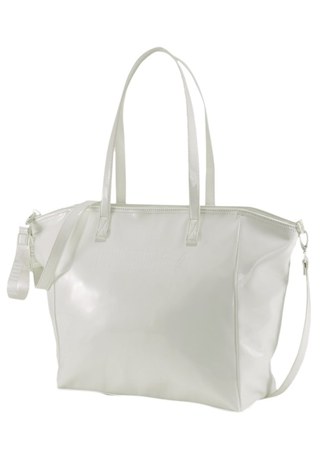 PRIME PREMIUM LARGE WOMEN'S SHOPPER FRAUEN - Across body bag - white