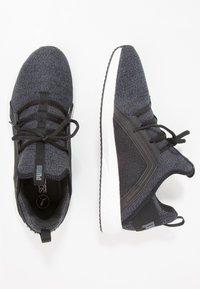 Puma - MEGA NRGY  - Chaussures de running neutres - black/asphalt - 1