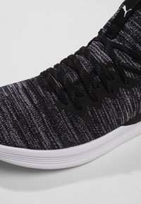 Puma - IGNITE FLASH EVOKNIT - Sports shoes - puma black/asphalt/puma white - 5