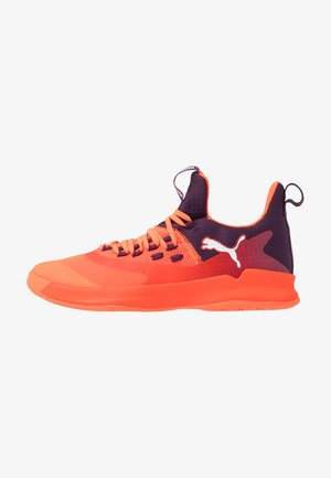 RISE XT FUSE 2 - Scarpe da pallamano - shocking orange/shadow purple/white