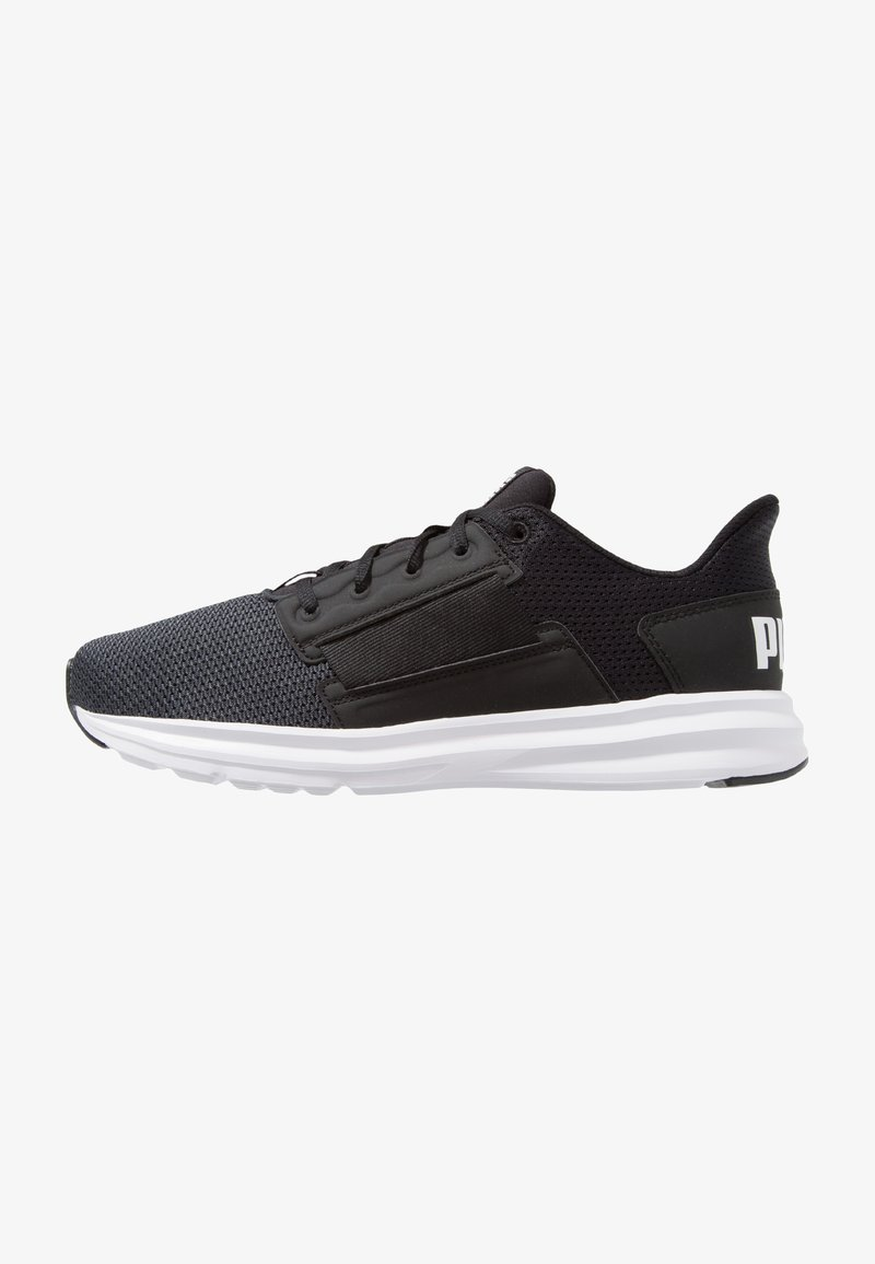 Puma - ENZO STREET - Trainings-/Fitnessschuh - asphalt/white/black
