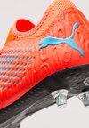 Puma - FUTURE 19.4 SG - Fußballschuh Stollen - red blast/bleu azur