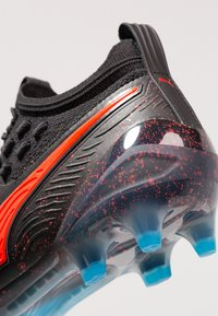 Puma - ONE 19.1 FG/AG - Chaussures de foot à crampons - bleu azur/red blast/black - 5