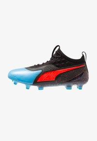 Puma - ONE 19.1 FG/AG - Chaussures de foot à crampons - bleu azur/red blast/black - 0