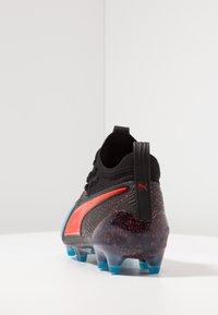 Puma - ONE 19.1 FG/AG - Chaussures de foot à crampons - bleu azur/red blast/black - 3