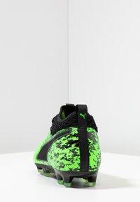 Puma - ONE 19.2 FG/AG - Chaussures de foot à crampons - green gecko/black/charcoal gray - 3