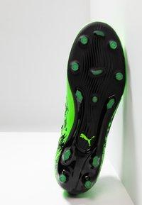 Puma - ONE 19.2 FG/AG - Chaussures de foot à crampons - green gecko/black/charcoal gray - 4