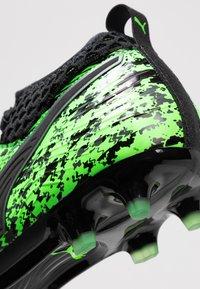 Puma - ONE 19.2 FG/AG - Chaussures de foot à crampons - green gecko/black/charcoal gray - 5