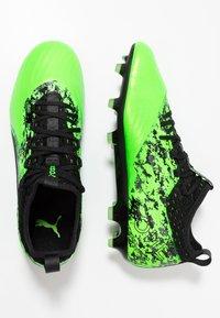 Puma - ONE 19.2 FG/AG - Chaussures de foot à crampons - green gecko/black/charcoal gray - 1