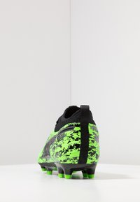 Puma - PUMA ONE 19.3 FG/AG - Korki Lanki - green gecko/black/charcoal gray - 3