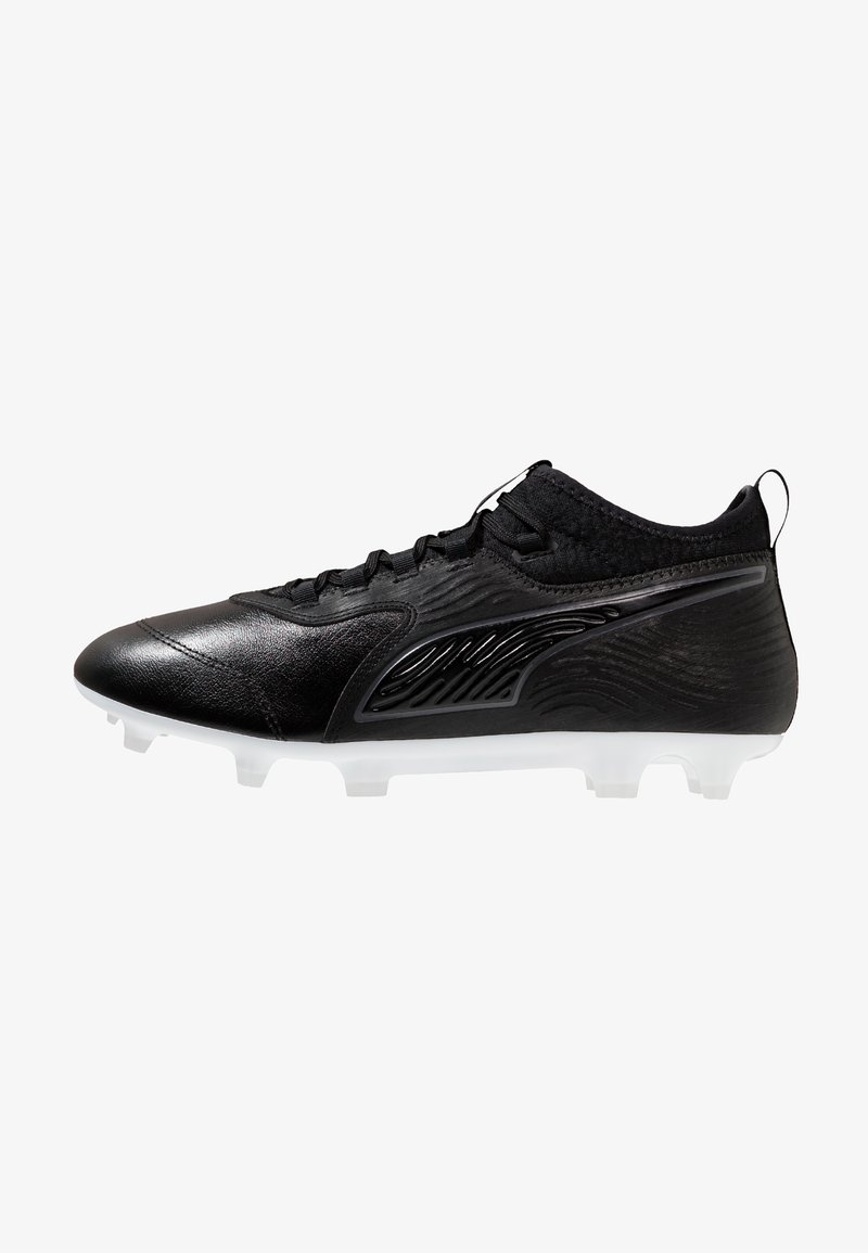 Puma - PUMA ONE 19.3 FG/AG - Chaussures de foot à crampons - black/white