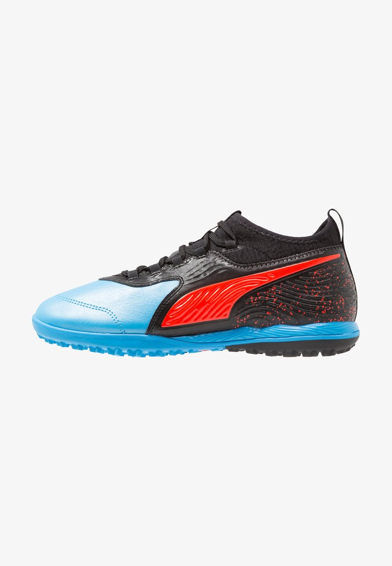 Puma - ONE 19.3 TT - Astro turf trainers - bleu azur/red blast/black