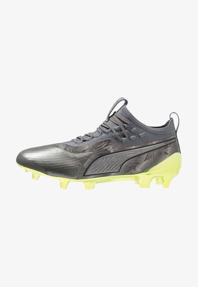 Puma - ONE 19.1 LTD. ED. FG/AG - Fußballschuh Nocken - aged silver/charcoal grey