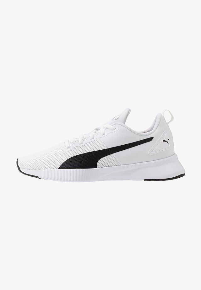 FLYER RUNNER - Neutral running shoes - white/black