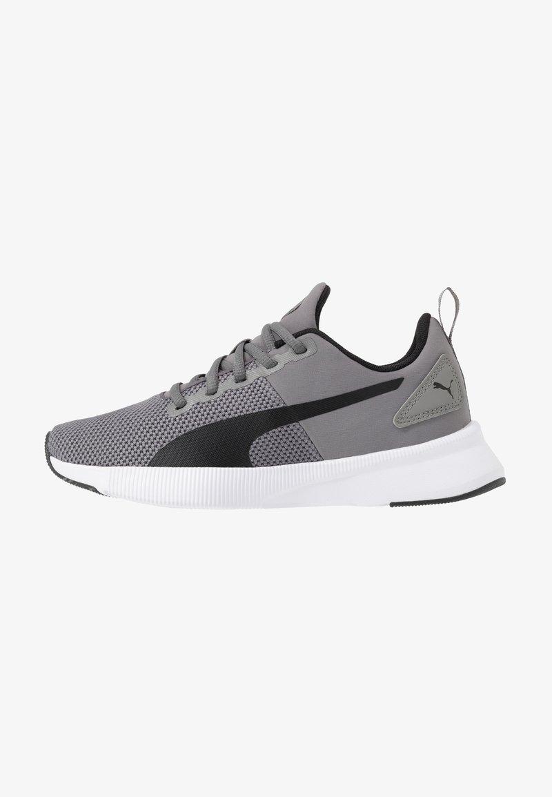 Puma - FLYER RUNNER - Obuwie do biegania treningowe - charcoal gray/black/blue turquoise