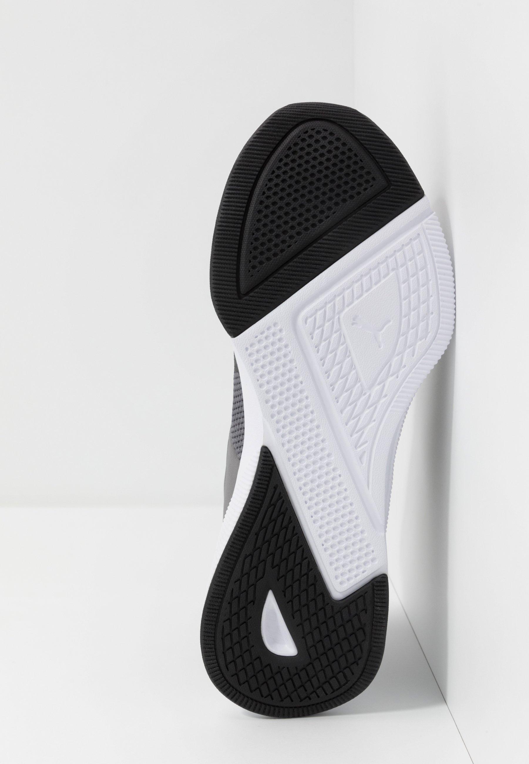 Puma Flyer Runner - Chaussures De Running Neutres Charcoal Gray/black/blue Turquoise
