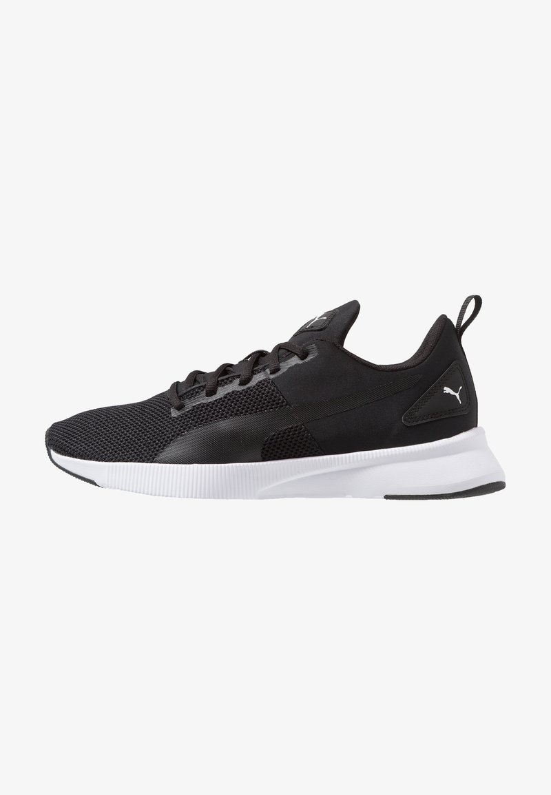 Puma - FLYER RUNNER - Nøytrale løpesko - black/white