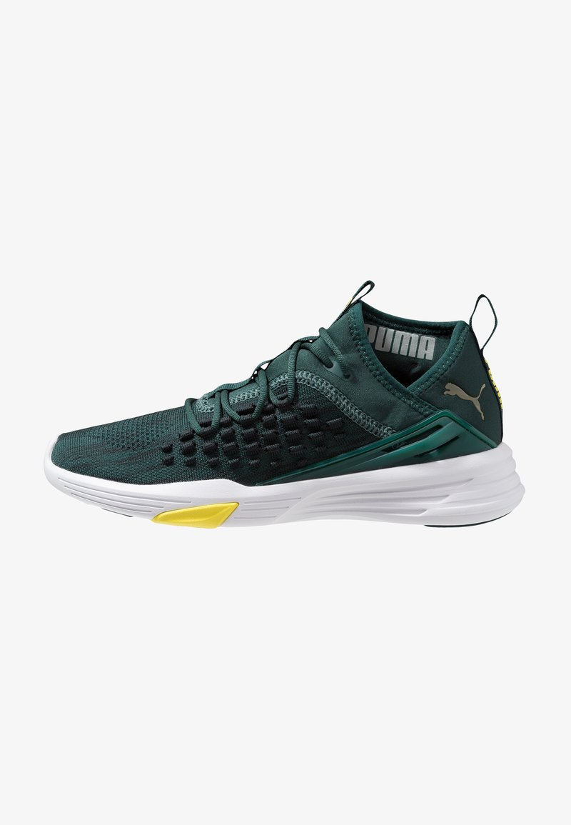 Puma - MANTRA - Sports shoes - ponderosa pine/white