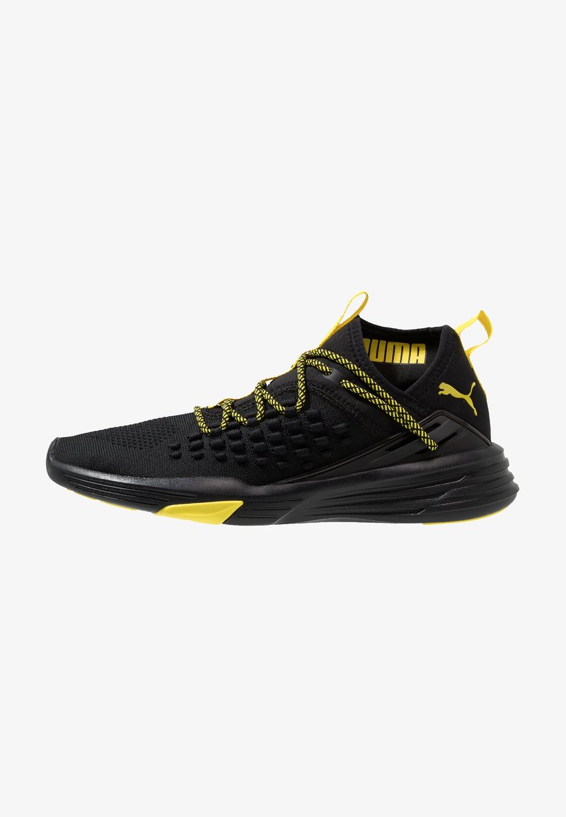 Puma - MANTRA CAUTION - Trainings-/Fitnessschuh - black/blazing yellow