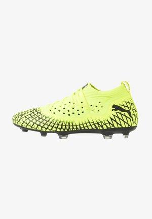 FUTURE 4.2 NETFIT FG/AG - Chaussures de foot à crampons - yellow alert/black