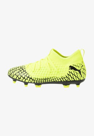 FUTURE 4.3 NETFIT FG/AG - Chaussures de foot à crampons - yellow alert/black