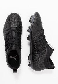 Puma - FUTURE 4.3 NETFIT FG/AG - Chaussures de foot à crampons - black/aged silver - 1