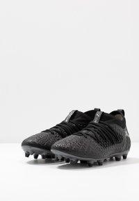 Puma - FUTURE 4.3 NETFIT FG/AG - Chaussures de foot à crampons - black/aged silver - 2