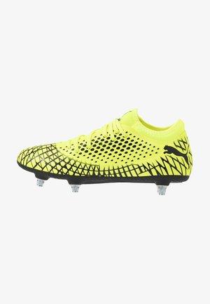 FUTURE 4.4 SG - Screw-in stud football boots - yellow alert/black