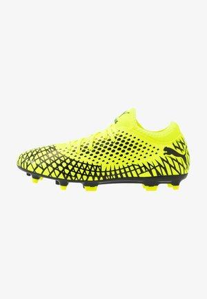 FUTURE 4.4 FG/AG - Chaussures de foot à crampons - yellow alert/black