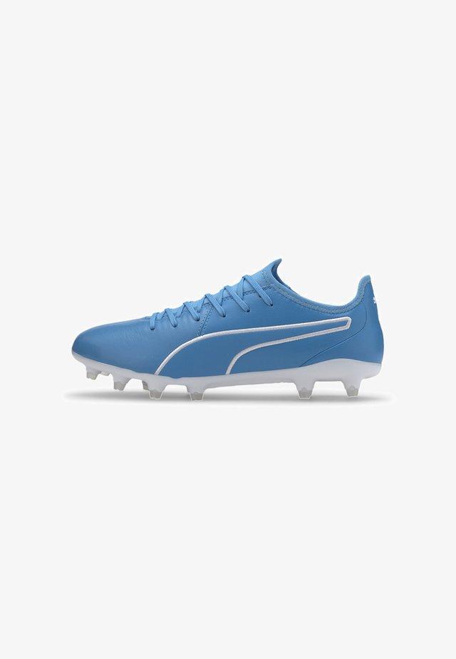 KING PRO FG - Voetbalschoenen met kunststof noppen - blue