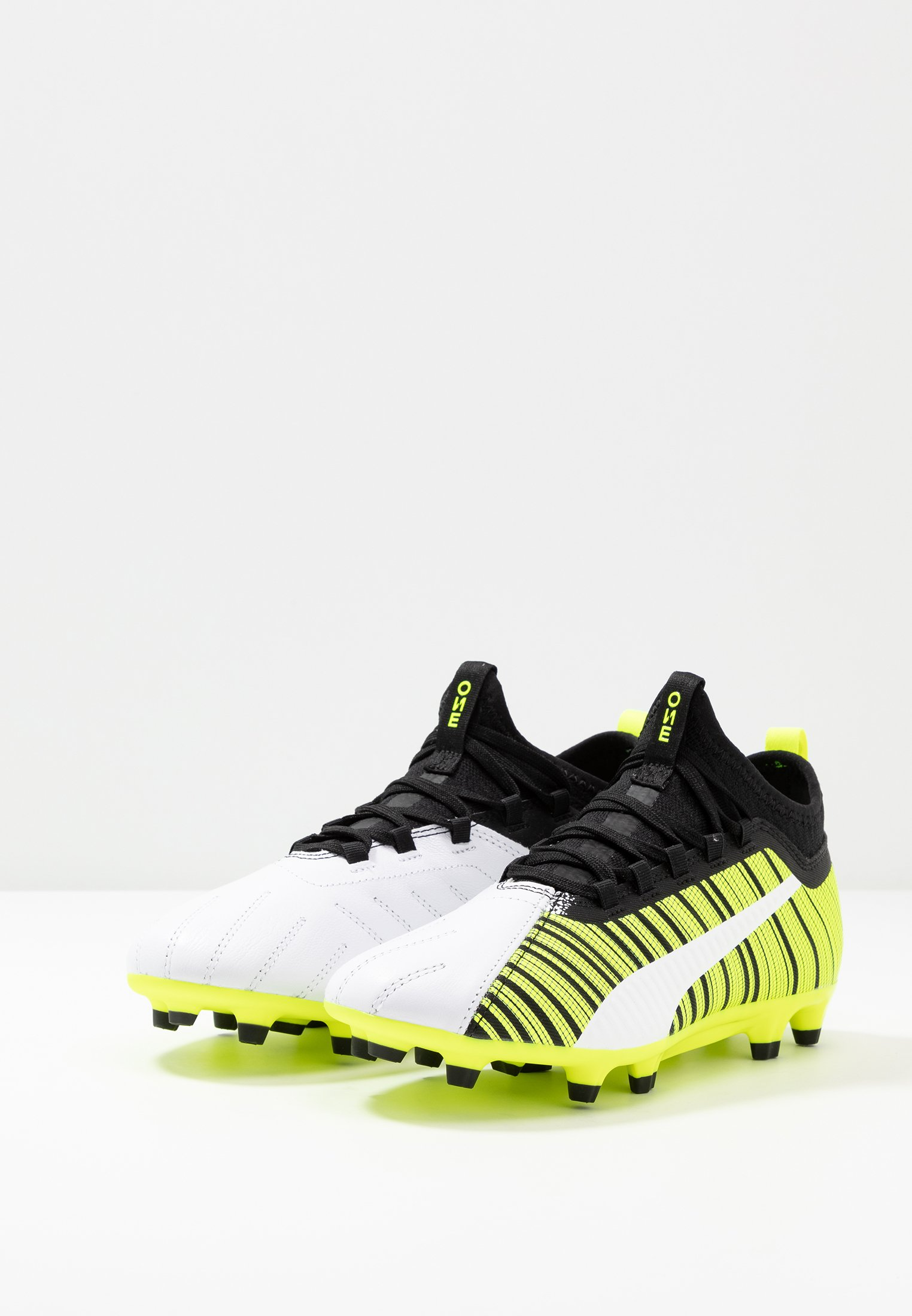5 Da Con Fg agScarpe Alert Puma White One yellow Calcetto black 3 Tacchetti F31TKclJ