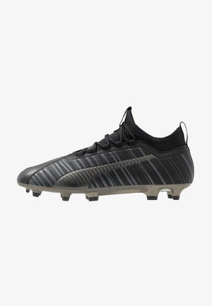ONE 5.3 FG/AG - Chaussures de foot à crampons - black/aged silver