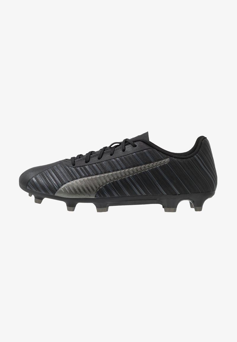 Puma - ONE 5.4 FG/AG - Voetbalschoenen met kunststof noppen - black/aged silver