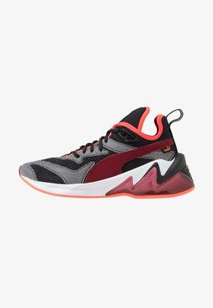 LQDCELL ORIGIN TECH - Zapatillas de running neutras - black/rhubarb