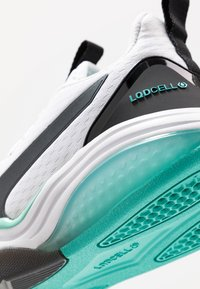 Puma - LQDCELL TENSION - Sports shoes - white/blue turquoise - 5