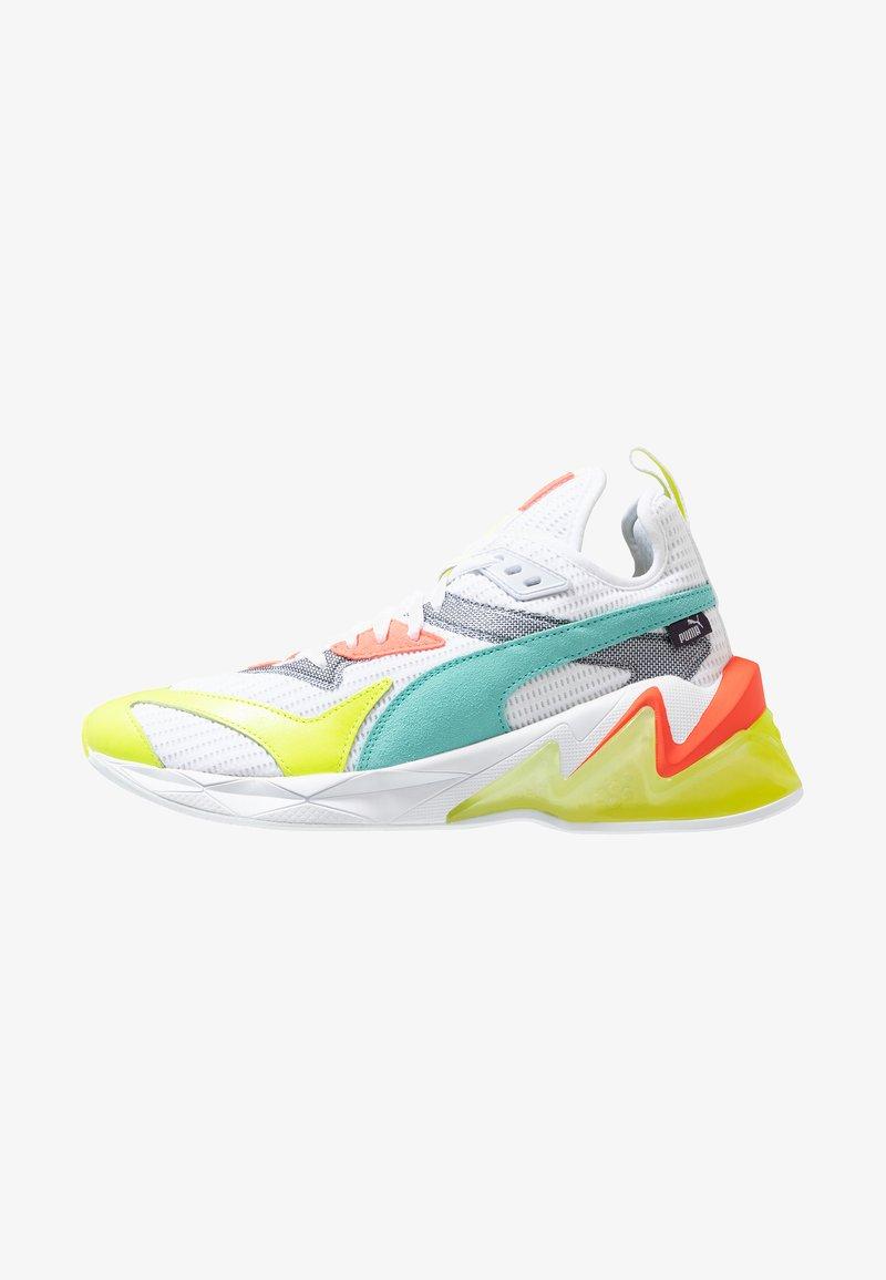 Puma - LQDCELL ORIGIN - Zapatillas de running neutras - white/yellow alert
